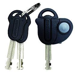 Die Schlüssel des New York Lock LS mit LED-Anhänger